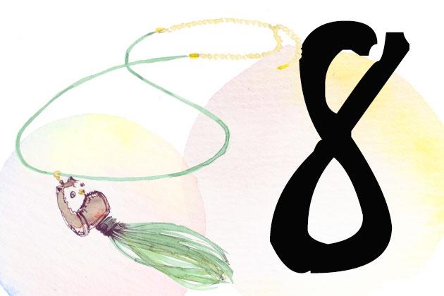 Kette von Nach Jewellery mit Eulenanhänger im Adventskalender gewinnen