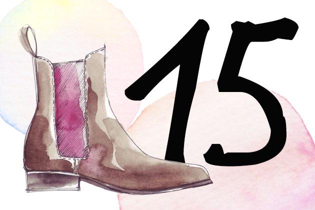 Chelsea Boots von Scarosso im Adventskalender gewinnen