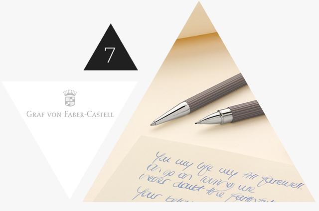 Gewinnen einen TINTENROLLER TAMITIO TAUPE von Graf von Faber-Castell im Adventskalender Gewinnspiel