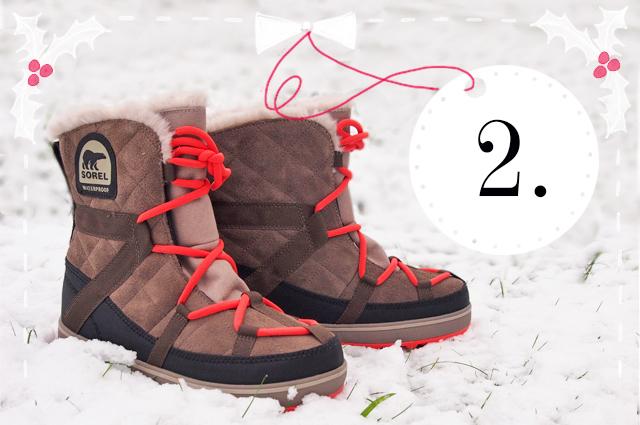 Adventskalender Gewinnspiel - Schneestiefel von Sorel gewinnen, Glacy Explorer, winterstiefel, Moon Boot