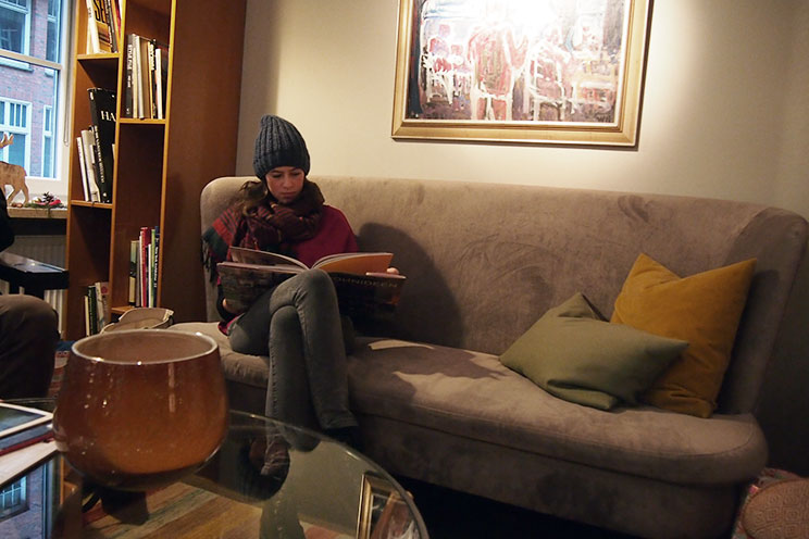 Designhotel Henri Hamburg, Eingangsbereich, Lobby, Anja Steffen, Designbücher, Coffee Table Books