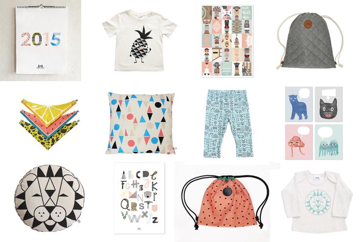 Wohnaccessoires und Kinderkleidung, Modelabel für Kinder Anny Who mit Kindermode aus Biobaumwolle und Accessoires, online bestellen