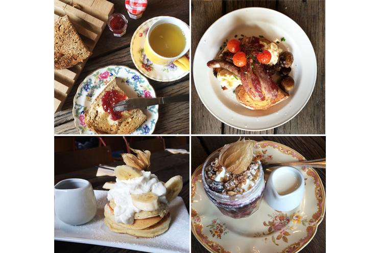 Frühstück im Design Hotel The Artist Residance in Brighton - Englisches Frühstück, Toast, Müsli, American Pancakes, Preis, Qualität, Empfehlung
