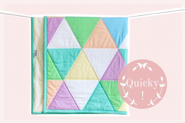 Baby Krabbeldecke und Quilts von FRIEKE online bestellen, Patchworkdecke, Babydecke, DIY