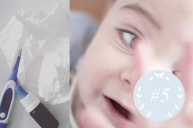 Mama Kind Kolumne - Der erste Winter in der Kita mit vielen Kinderkrankheiten