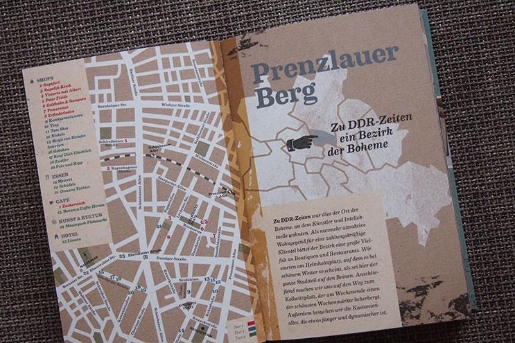 Stadtpläne und Karten in Berlin Styleguide