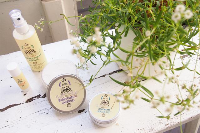 vegane Kosmetik von Susanne Bloos online bestellen, Deo ohne Aluminium, Frischespray, Lippenpflege und Badeschaum aus eigener Herstellung