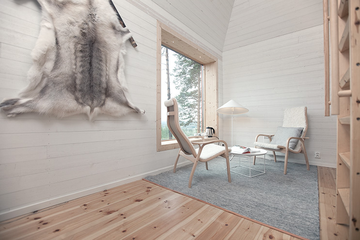 Skandinavisches design im Blue Cone