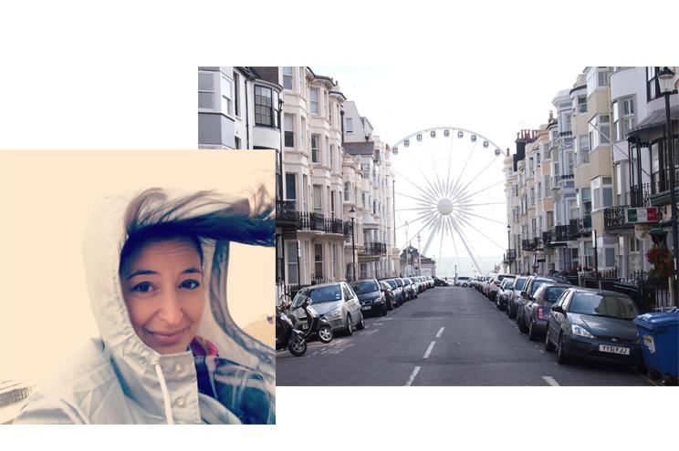 Riesenrad THE WEEL in Brighton mit historischem Pier, Preise für Rundfahrt, Sehenwürdigkeiten