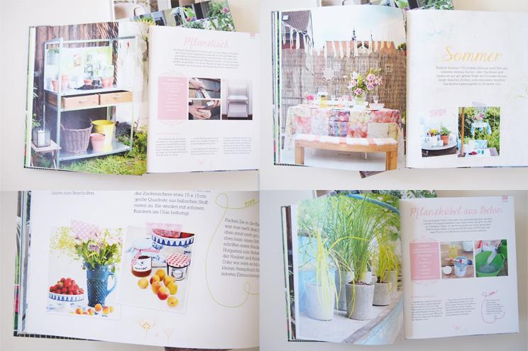 Buch Garten Deko - DIY Ideen und Dekoration für den Garten von Bloggerin Katharina Pasternak