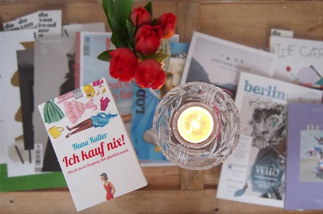 Buch von Nunu Kaller - Ich kauf nix - Wie ich durch Shopping-Diät glücklich wurde
