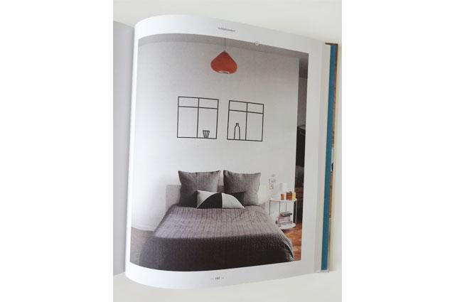 Buch SoLebIch der gleichnamigen Wohn-Community mit Wohnideen und Inspirationen für die Schlafzimmer Einrichtung, DIY Tipp zum Selbermachen mit Tape
