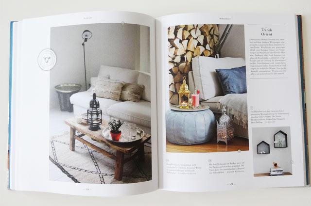 Buch SoLebIch mit Wohn-Inspiration fürs Wohnzimmer im Orient Look