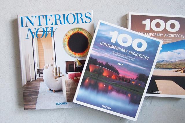 Taschen Interiors Now 3, 100 Contemporary Architects, Bücher über Architektur und Inneneinrichtung