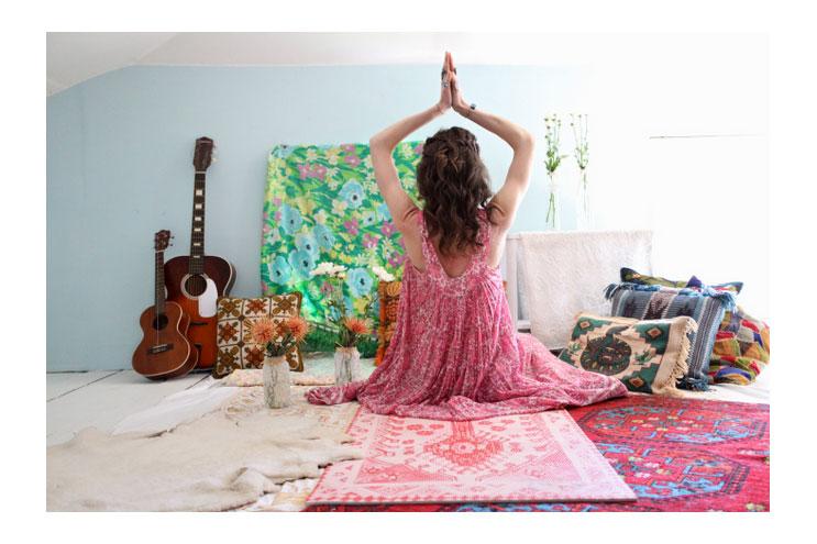 yogamatten aus dem designstudio für die yoga-praxis