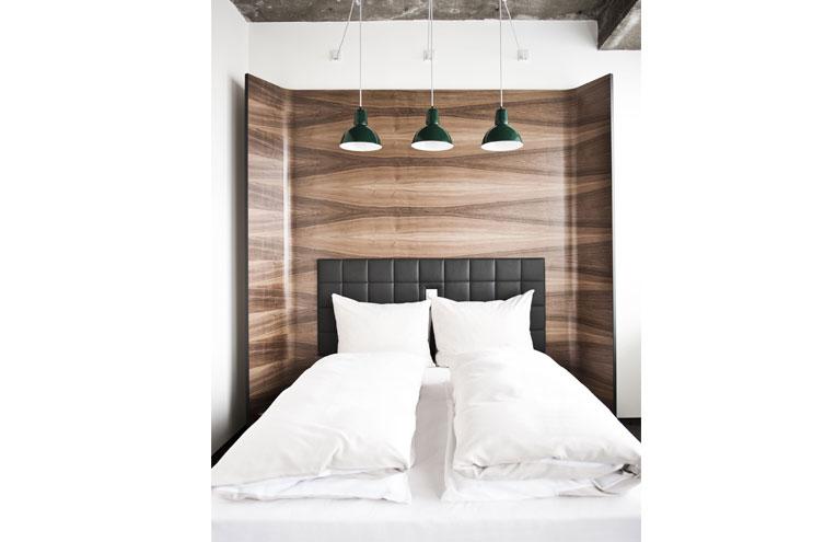 Daniel Hotelzimmer Bett - Doppelzimmer