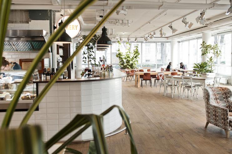 Daniel Hotel Lobby Frühstück und Bar