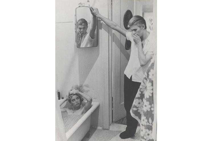 David Bowie Ausstellung Berlin - Exponat Collage