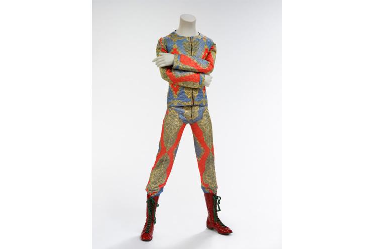 Bühnenkostum David Bowie, Ausstellung in Berlin und London