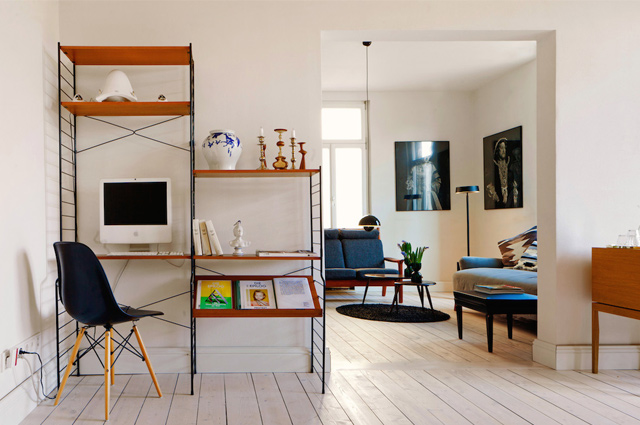 hier war goethe nie urlaub in den design apartments. Black Bedroom Furniture Sets. Home Design Ideas