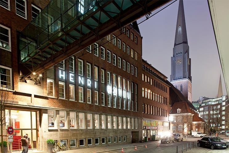Designhotel das henri hotel in hamburg bernachten im for Designhotel hamburg