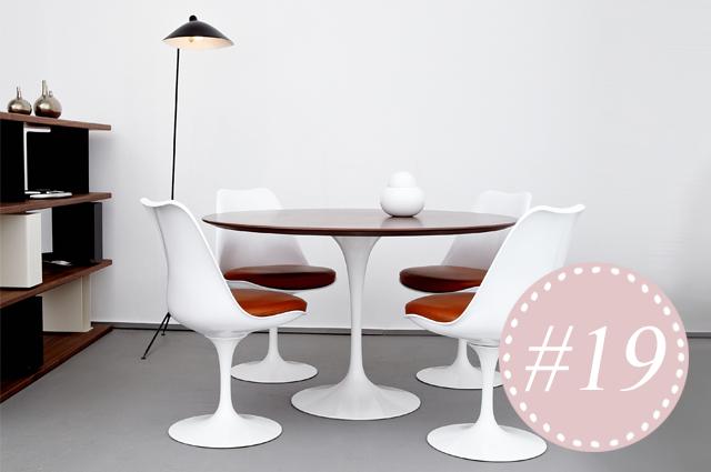 Wohntrend - Wohnen mit Designklassikern, Tulip Chair Eero Saarinen bei Markanto online bestellen