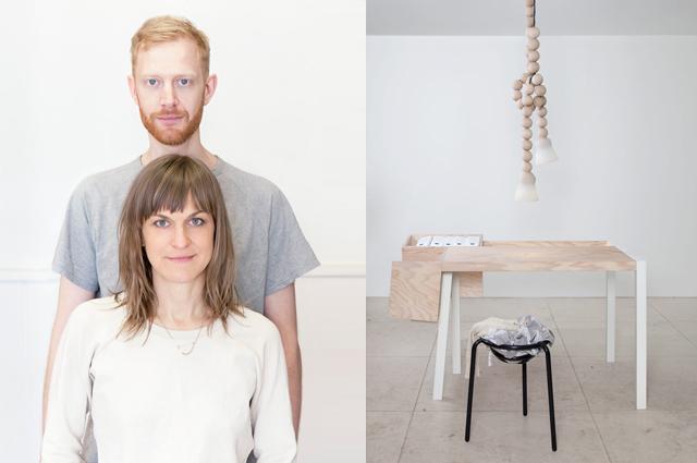 Jacob und Ania vom Berliner Designstudio llot llov mit Möbeln, Lampen und Wohnaccessoires, online bestellen
