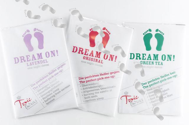 Entgiften im Schlaf mit Detox Fußpads von Toxic Twins, online bestellen