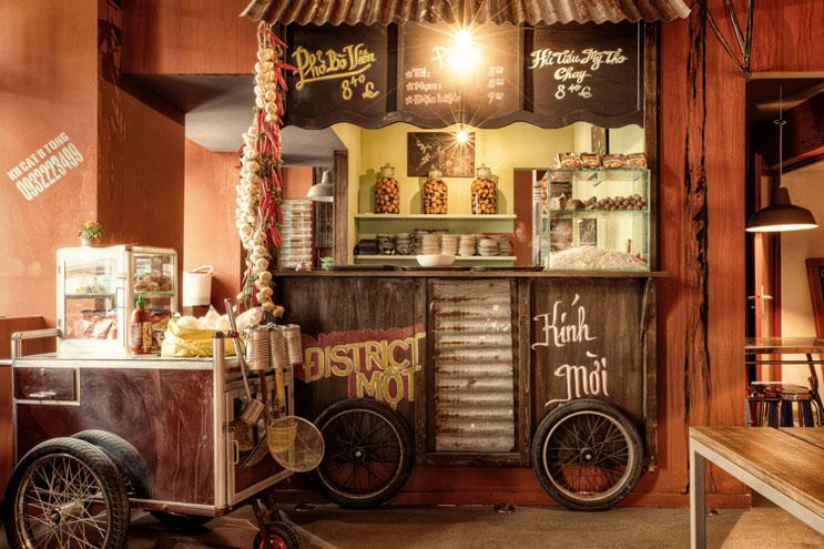 Saigon Kitchen bei District Mot in Berlin