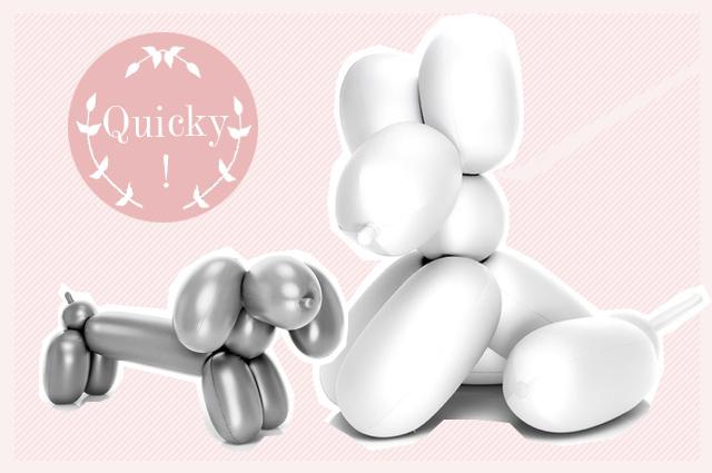 Sjef-Balloon - Aufblasbare Hunde von Fatboy im XXL-Format, die Luftballonhunde Hot Dog, Big Dog und Dolly Dog, online bestellen, Jeff Koons