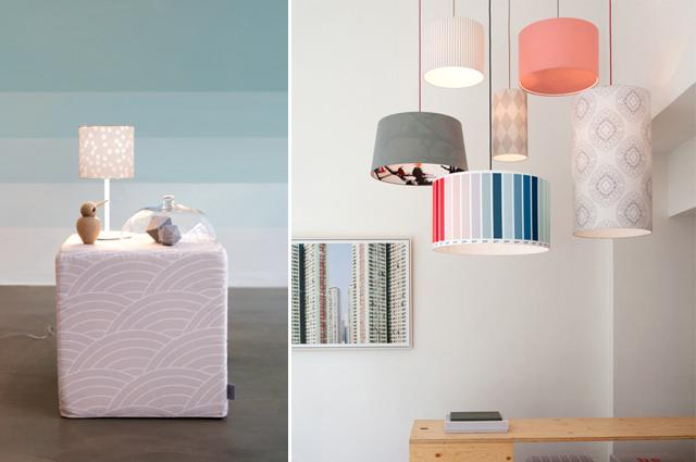 Droom in Köln, Lampen, Wohnaccessoires und Möbel individuell mit Mustern bedrucken, Prints, Digitaldruck