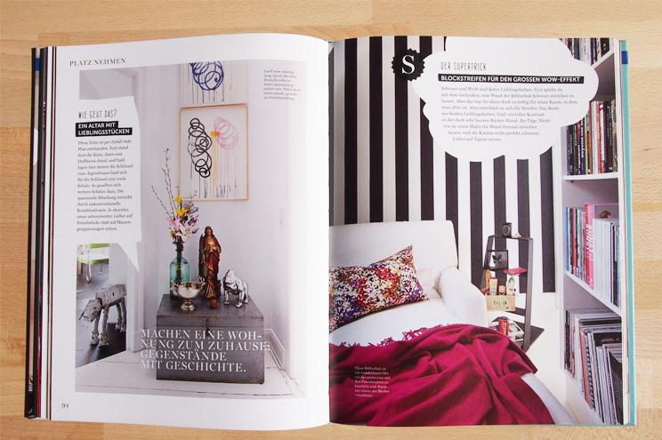 Wie eine Wohnung ein Zuhause wird, Einrichtungsbuch mit Ideen und Inspiration von Stefanie Luxat