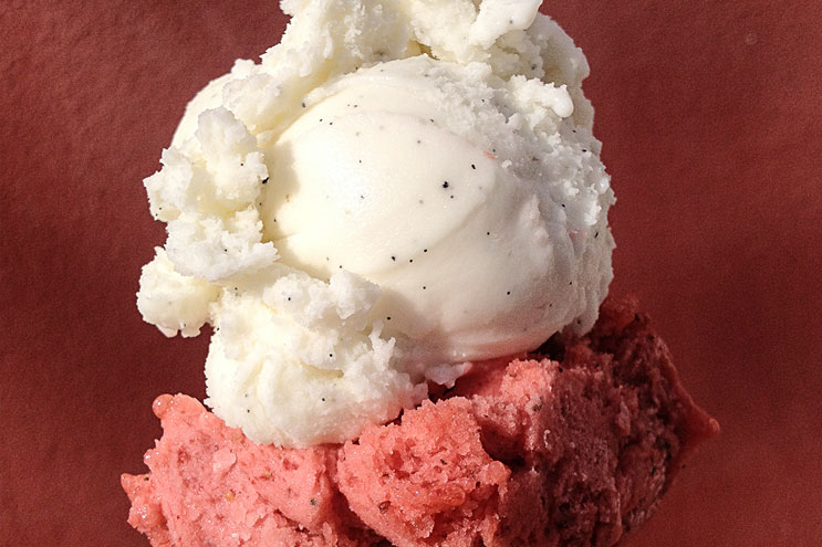 Eiscreme Geschmacksrichtungen