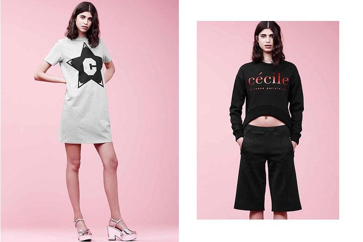 Jersey Seatshirt Dress von Modelabel etre Cecile