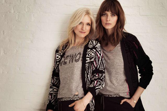 Interview mit Eva Padberg und Katja Will von C'est tout für neue Kollektion ce'nou
