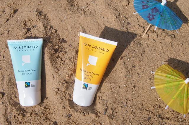 Sonnencreme und After Sun Cream von Fair Squared, Gesichtspflege und Beautyprodukte Fair Trade, online bestellen