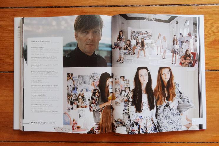 modedesigner markus lupfer in fashion germany