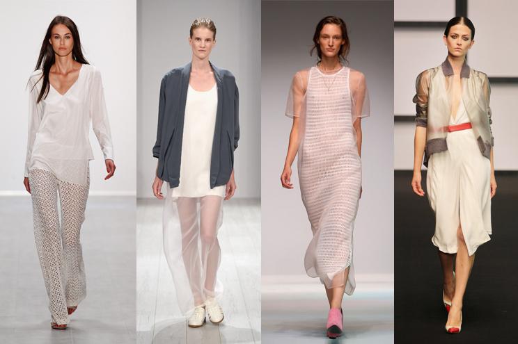 Modetrend Transparenz Sommer 2015 - Die Looks von Laurèl, Isabell de Hillerin Lala Berlin und Dawid Tomaszweski auf der Mercedes-Benz Fashion Week Berlin Sommer 2015