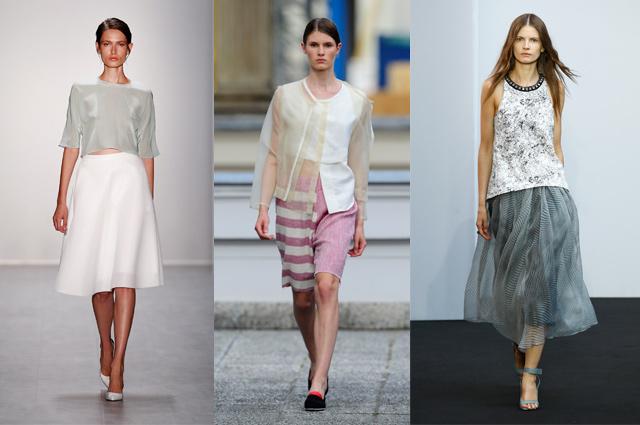 Fashion Week Berlin - Sommer 2015 - Hien Le, Vladimir Karaleev und Schuhmacher, Modetrend, Modenschau