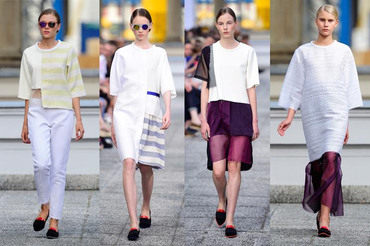 Schönste Kollektion von Vladimir Karaleev für den Sommer 2015 - Mercedes-benz Fashion Week Berlin Sommer 2015