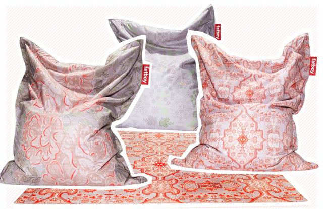 Fatboy Sitzsack und Teppich in der Special Edition mit Muster von Orient bis Blumen, online bestellen