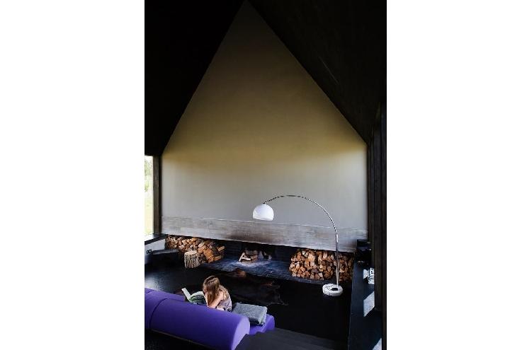 Das schwarze Haus als Ferienhaus in Bandenburg mieten, Wohnzimmer Design, Wohnraum, Zimmer
