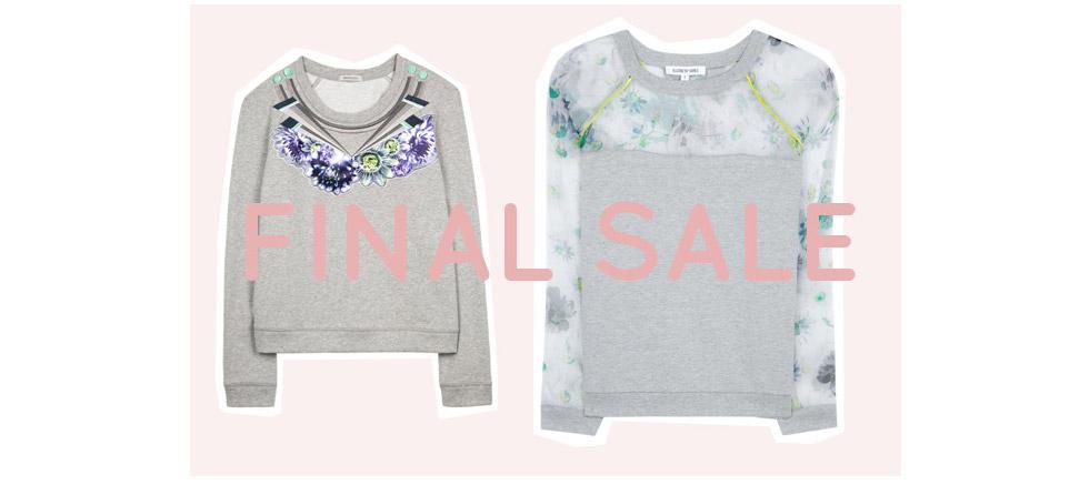 Sweatshirts von Emma Cook und Elizabeth and James im Sale, Schnäppchen in den Onlineshops
