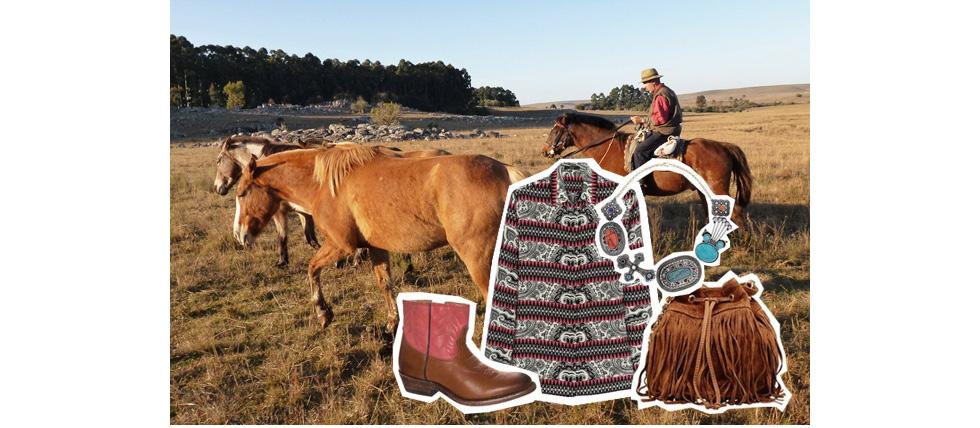 Modetrend Herbst/Winter 2014/15 - Gaucho und Cowboy Styling, online bestellen