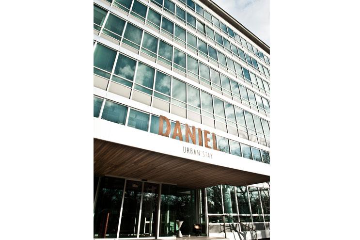 Daniel Hotel Fassade modern Wien