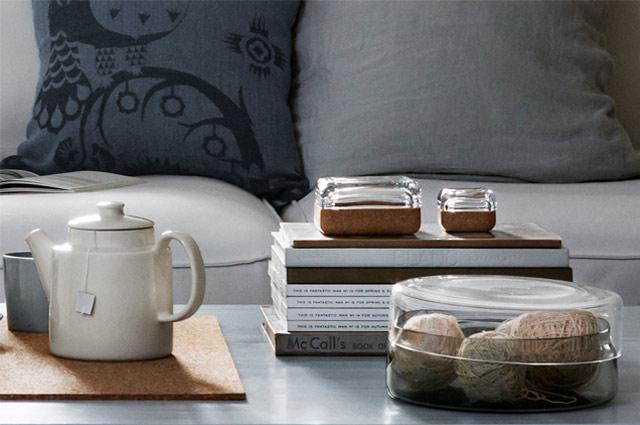 Vitriini Glasboxen von Iittala mit Kork oder nur aus Glas in vielen Farben, Aufbewahrung, Design, Dekoration, Interior, Einrichtung