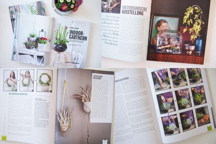 Buch Indoor Gärtnern von Isabelle Palmer - kreative DIY Ideen für Pflanzen Zuhause, garten, wohnung, dekoration,