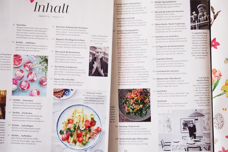 Rezepte Magazin salon mag neues magazin mit kulinarischem inhalt the shopazine de