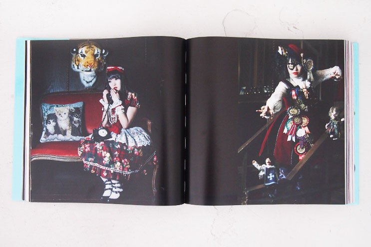 der japanische look, Manga, gothic,