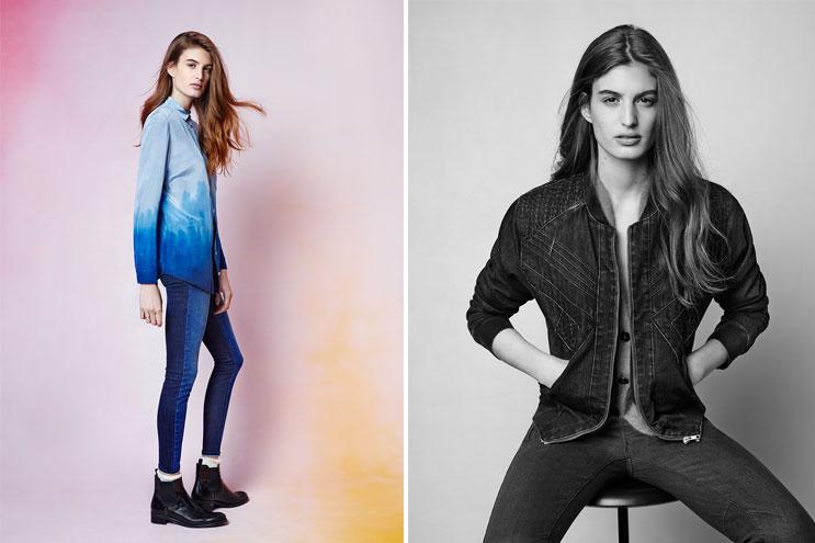 Jeansjacken und Hosen von Dawn Denim